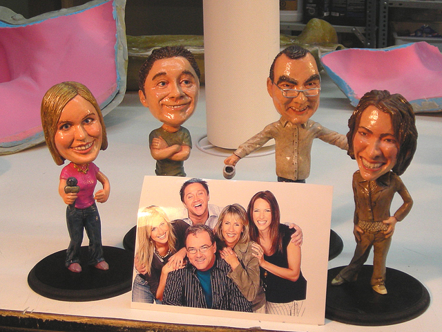 likeness Bobble Heads from photos