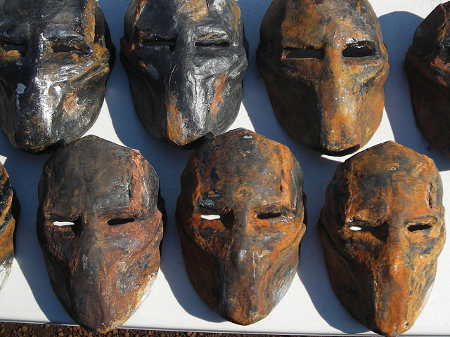 Death Race Masks and props