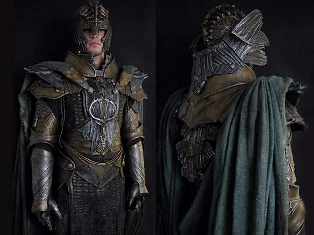 'Riddick' custom suit parts