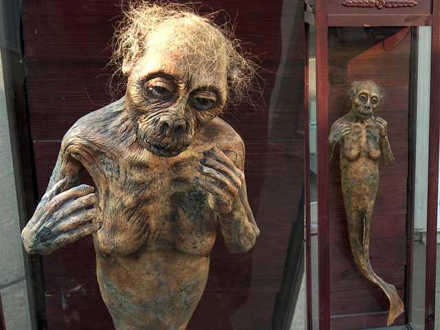 'Feejee Mermaid' rendition for the movie 'P.T. Barnum'